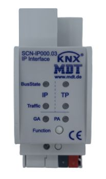 MDT SCN-IP000.03 ,IP Interface mit IP Secure und Data Secure 2TE REG, Email und Zeitserverfunktion