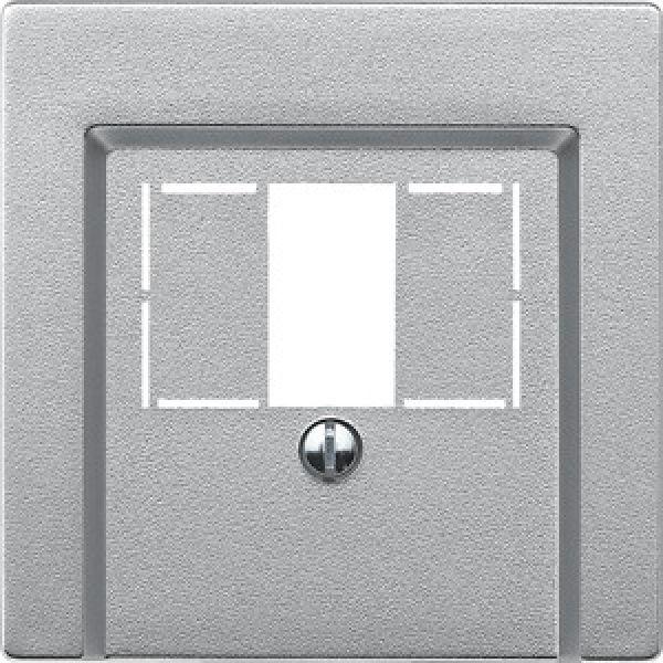Merten Schuko-Steckdose Einsatz Steckklemmen SystemM MEG2301-0460 Aluminium