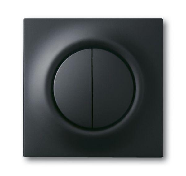 elektroartikel g nstig hier im online shop busch jaeger 1785 775 zentralscheibe schwarz. Black Bedroom Furniture Sets. Home Design Ideas